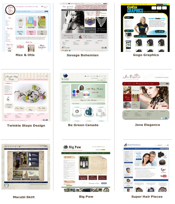 Custom home page layout zen cart zen cart templates for Custom home layouts