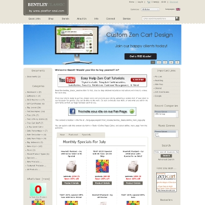 free responsive zen cart templates - bentley classic zen cart zen cart templates