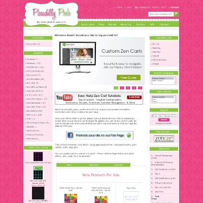 Piccadilly posh zen cart zen cart templates for Free responsive zen cart templates